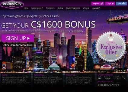 Casino Lobby JackpotCity
