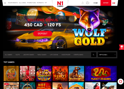 N1 Casino Lobby