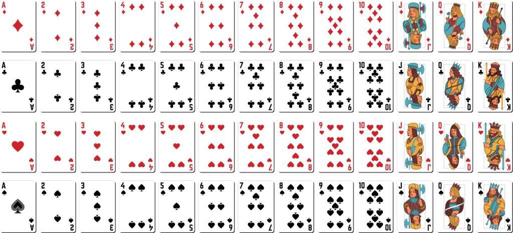 Overview Blackjack Deck