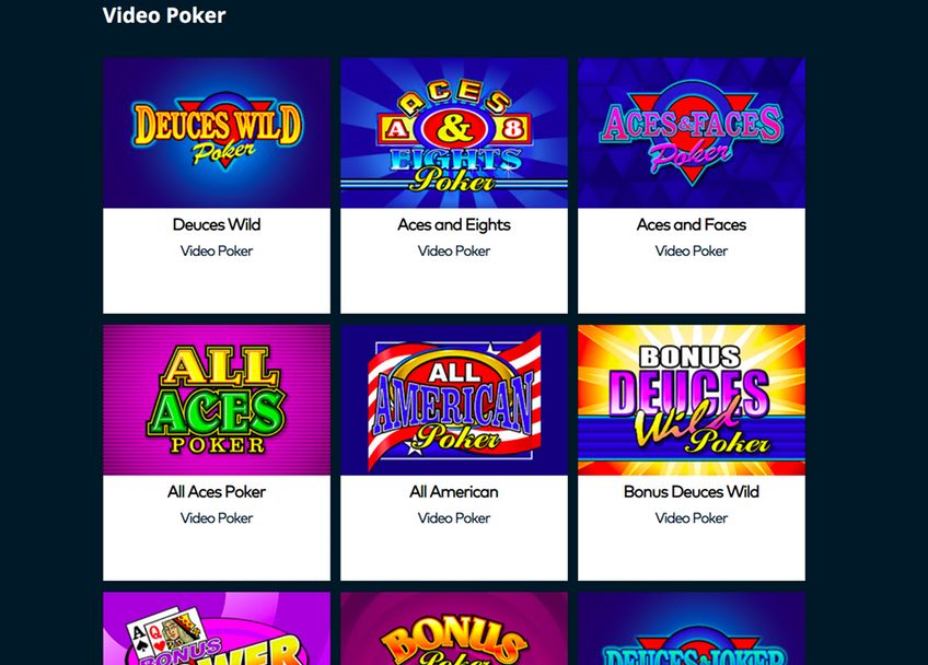 Fun Casino Video Poker