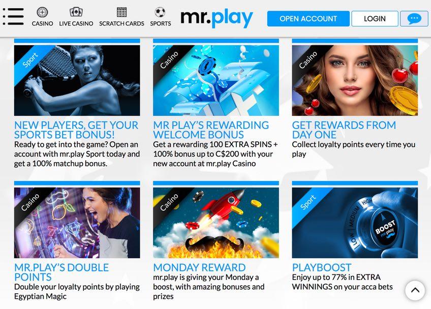 Promotion MrPlay