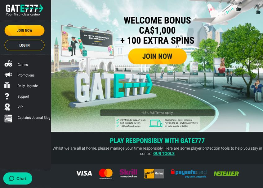 Casino Lobby Gate777
