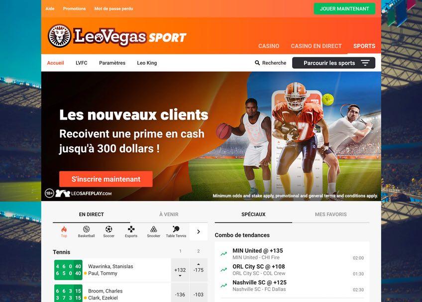 Sport BettingLeo Vegas
