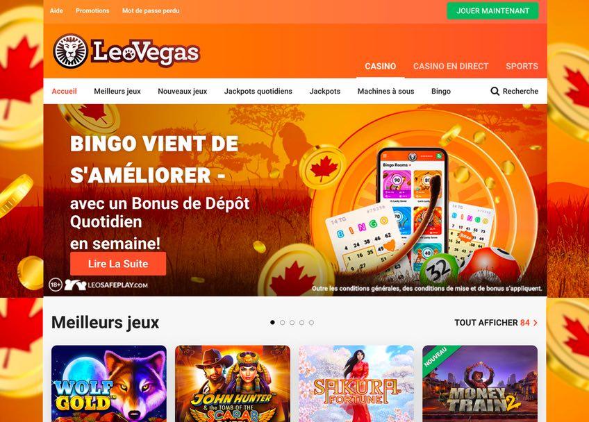 Casino Lobby Leo Vegas