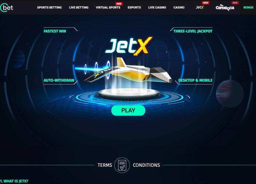 Cbet Jetx mini game