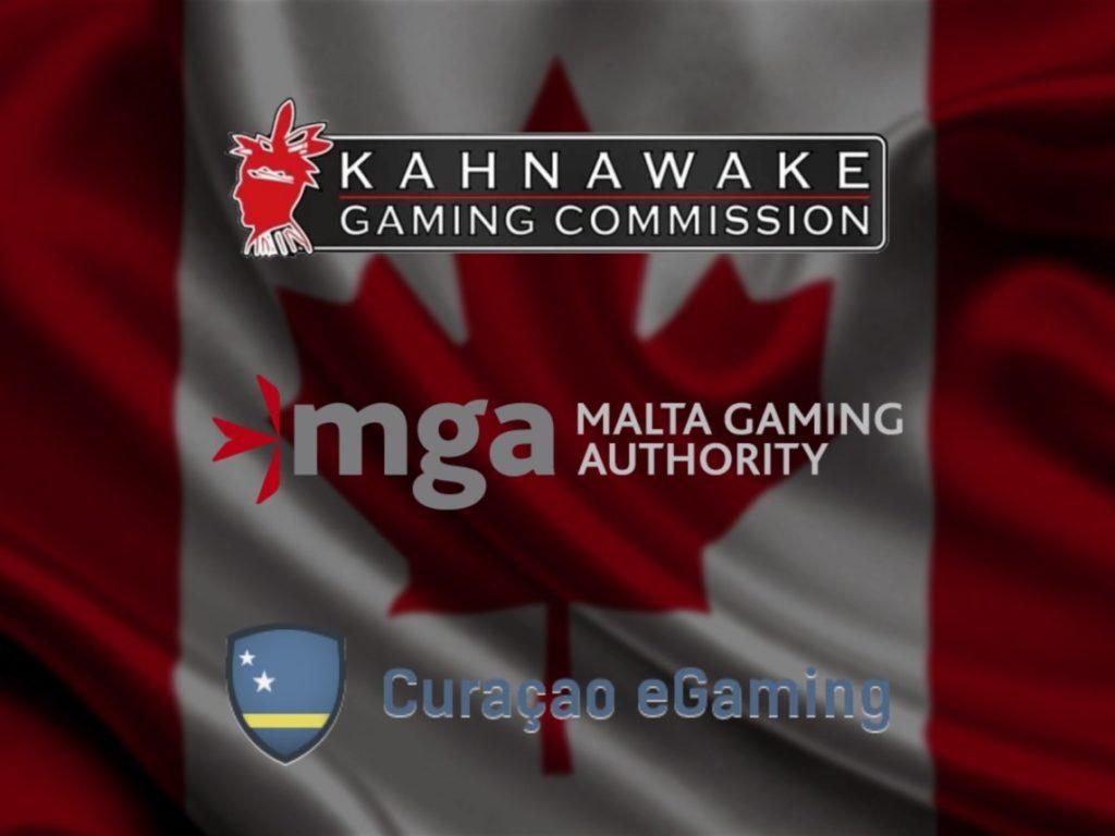 Curaçao, MGA, Kahnawake Gaming License Comparison